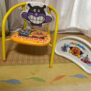アンパンマン テーブルチェアセット