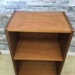 カラーボックス 2段 木製 ベージュ/ナチュラル  - 福井市