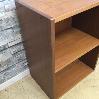 カラーボックス 2段 木製 ベージュ/ナチュラル  - 家具
