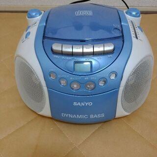 CD、ラジオ、カセット