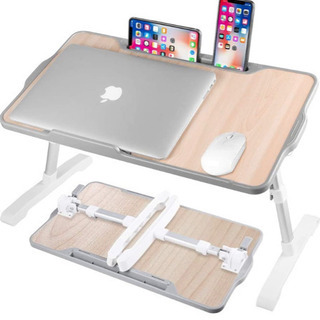 A167【新品未開封】ノートパソコンスタンド ベッドテーブル 机...