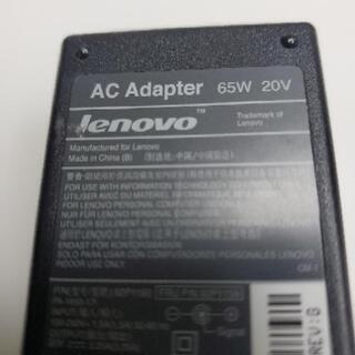 【譲ってください】Lenovo ノートパソコンACアダプター(丸型) - 一宮市