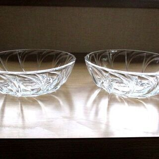ガラス鉢 2個セット