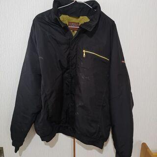 メンズ ジャンパー作業服 黒