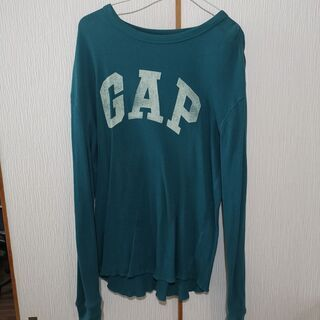 GAP メンズ長袖セーター グリーン