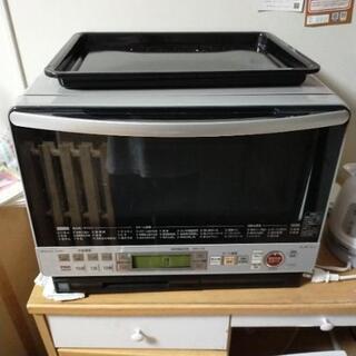 日立 HITACHI 過熱水蒸気 ボイラー式 オーブンレンジ M...