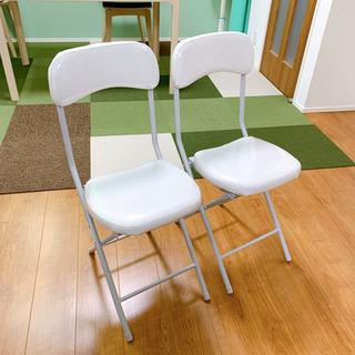 折り畳み椅子 2脚 ニトリ バーミーズ