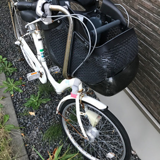 自転車⭐︎子供前乗り⭐︎