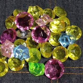 アクリルアイス。ダイヤの形です。。