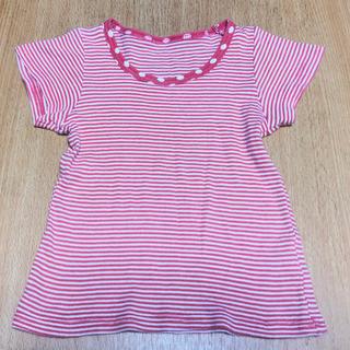 西松屋 女の子 90 綿100% Tシャツ (中古品)