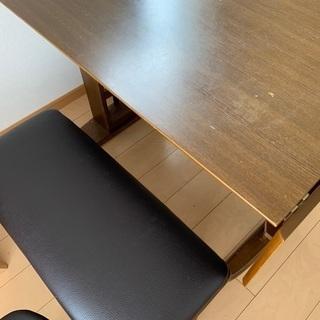 【ネット決済】ダイニングテーブル ウィングテーブル