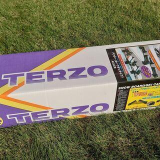 スキースノーボードルーフオンキャリア「TERZO SS104R」
