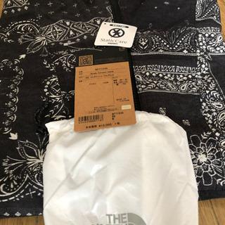 ノースフェイス ノベルティ コンパクトジャケット メンズ バンダナ柄 M ブラック − 富山県