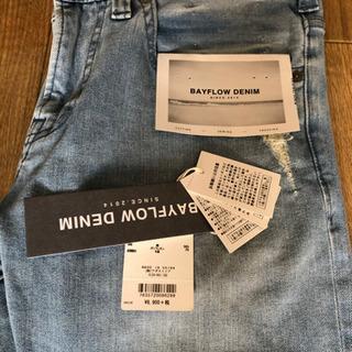 ベイフロー skinnyダメージジーンズ skinnyカラーパンツ 値下げ - 服/ファッション