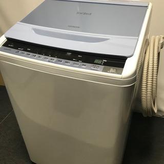 日立 ビートウォッシュ全自動洗濯機 8.0キロ 2015年…