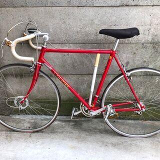 片倉シルク GLOIRE SILK ロードバイク 赤 25インチ