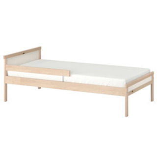 【ネット決済】イケア/IKEA singlar ベッドフレームと...