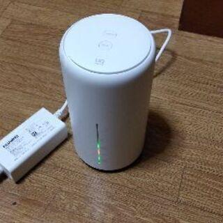UQ WiMAX Speed Wi-Fi HOME L01s HWS31MWU ホームルーターの画像