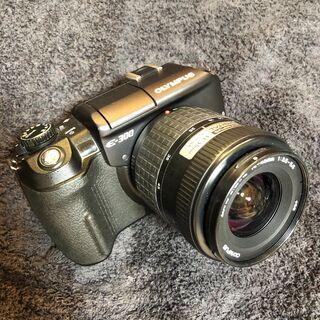 オリンパス OLYMPUS デジタル一眼レフカメラ E-300 ...