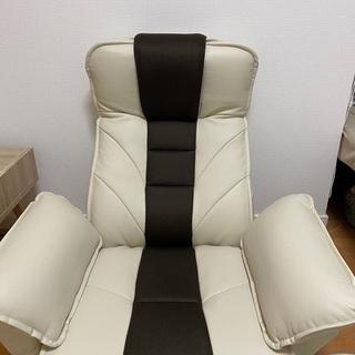 座椅子 一人用ソファ リクライニング ハイバック