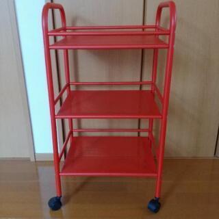 IKEA ワゴン 赤