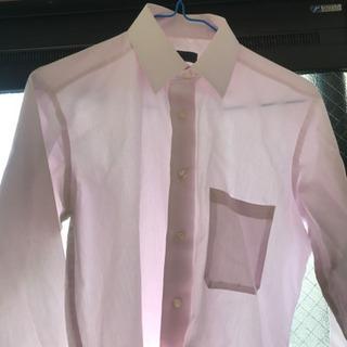 【使用回数少】ピンクワイシャツ【S82サイズ】