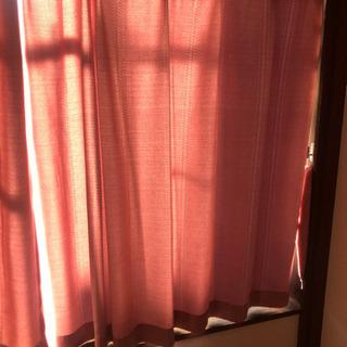 ニトリのカーテンの画像