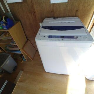 キレイな洗濯機入りました。5キロ