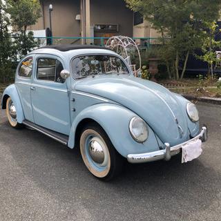 1957年式 VWビートル オーバル 6V キャンバストップ オ...