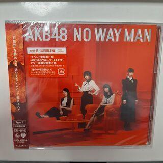 【新品未使用】AKB48 NO WAY MAN アルバム