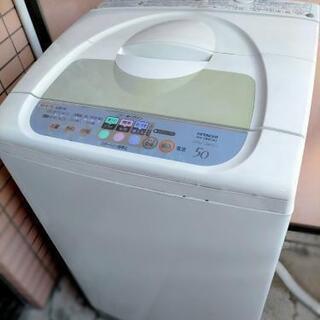HITACHI洗濯機(5kg)使ってください!の画像