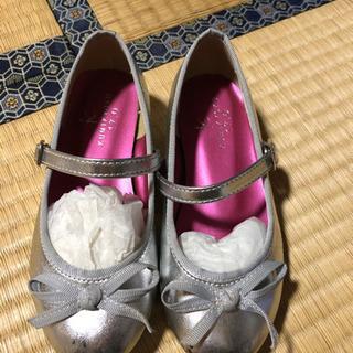 KUMIKYOKU シルバーの靴 17cm