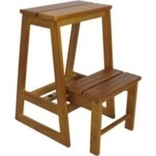 木製の踏み台