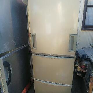 両開き冷凍冷蔵庫 SHARP SJ-WA35H-C 中古