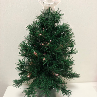 決まりました 中古品ファイバーライトクリスマスツリー
