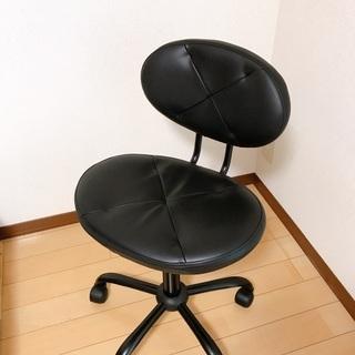 【美品】ニトリ 折りたたみデスク フレッタ(DBR)+ワークチェア プロンタ(BK) - 家具