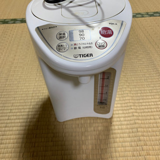 TIGER 電気ポット 3リットル