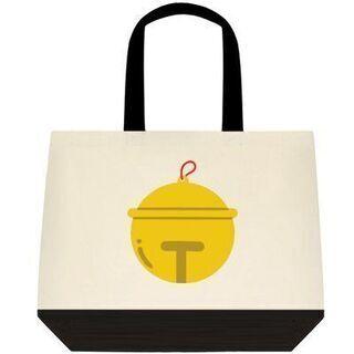 オリジナルデザインの≪鈴マーク≫トートバッグの画像