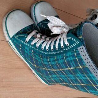 男の子★長靴★レインシューズ 22センチ 中古