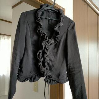 黒色 上着