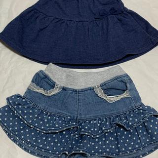 美品 スカート、ショーパン2点 サイズ95