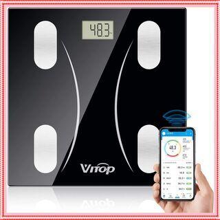 体重計 デジタル Bluetooth対応 スマホ連動