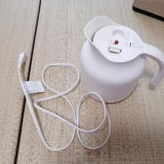 【値下げしました】無印良品 電気ケトル500ml