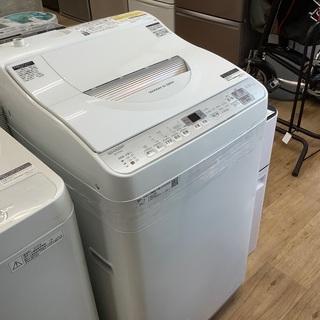 安心の1年間返金保証!SHARPの縦型洗濯乾燥機です!