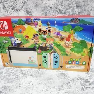 【新品】Nintendo Switch あつまれどうぶつの森セッ...