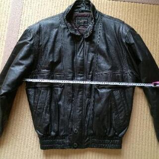 【値下げ】黒のレザージャケット 羊革