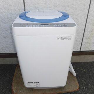 JMS0118)SHARP 全自動洗濯機 ES-GE70R-A ...