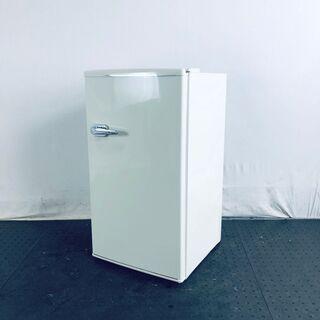 中古 冷蔵庫 1ドア ウィンコド 2018年製 85L ホワイト...