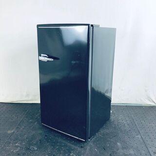 中古 冷蔵庫 1ドア シンプラス 2018年製 85L ブラック...