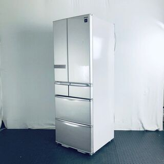 【北海道 沖縄 離島 配送不可】 中古 冷蔵庫 6ドア シャープ...